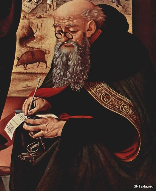 Anthony the Great by-Piero di Cosimo
