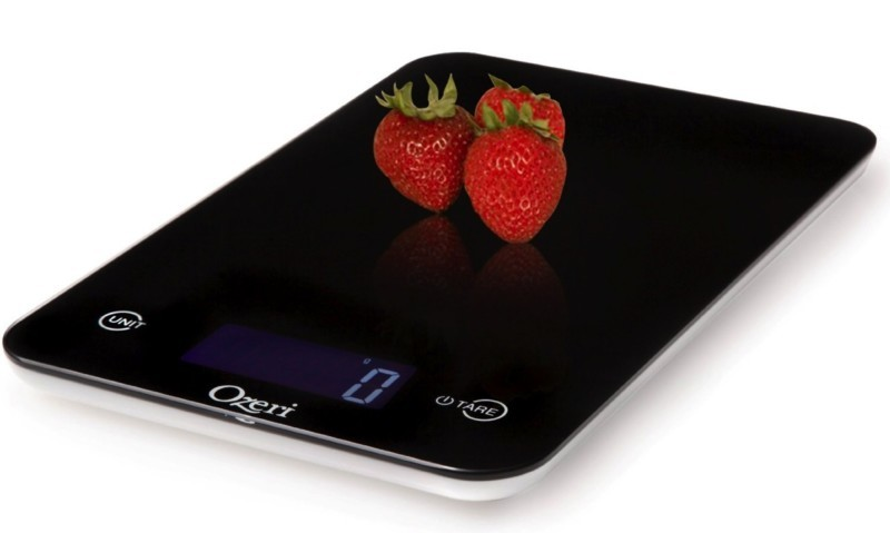 Ozeri Touch Professional Digital Kitchen Scale 11 lb Edition Tempered Glass in Elegant Black review