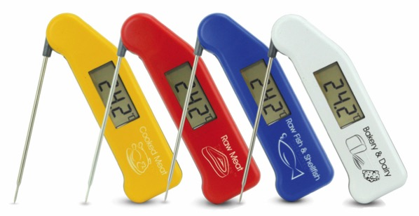 Thermapen colourcoded 4 standing