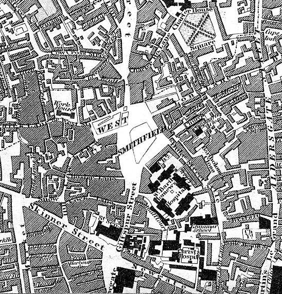 Scan of the Greenwood map by Mark Annand, who kindly gave permission to redistribute this portion of the map under a CC license.