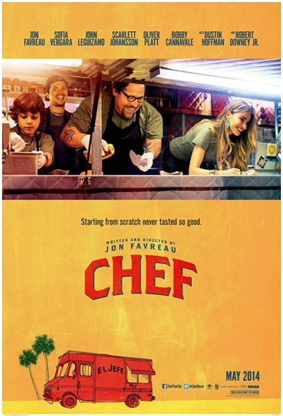 'Chef' poster 2014
