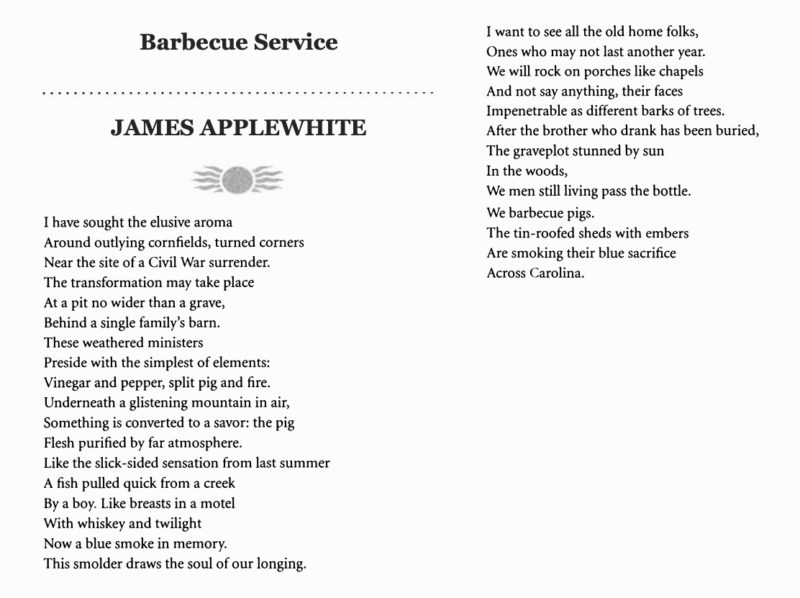 Barbecue Service by James Applewhite