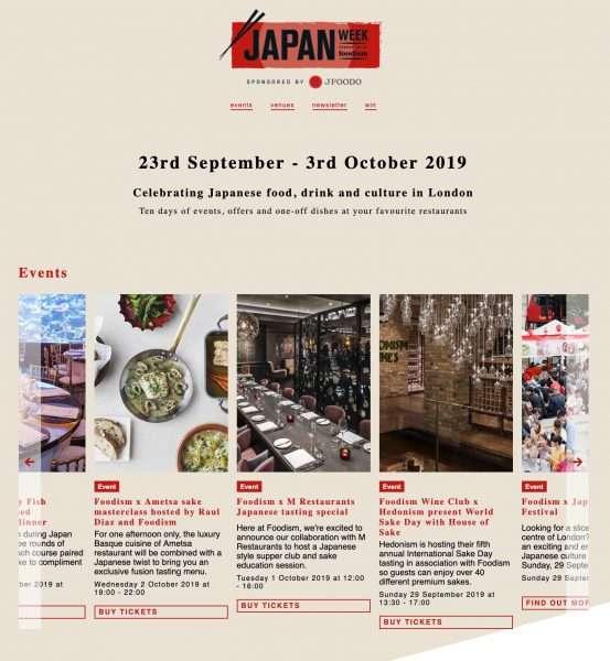 Japan Week 2019