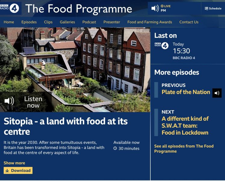 BBC R4 The Food Programme
