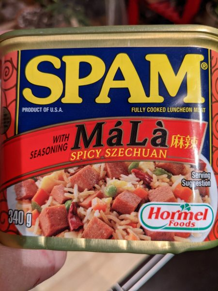 Spicy Szechuan spam