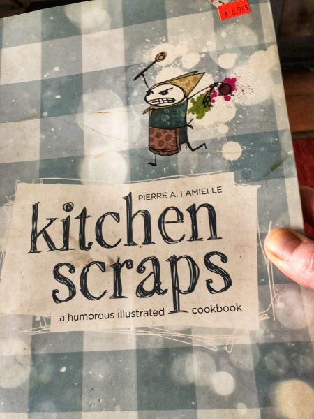 Kitchen scraps book