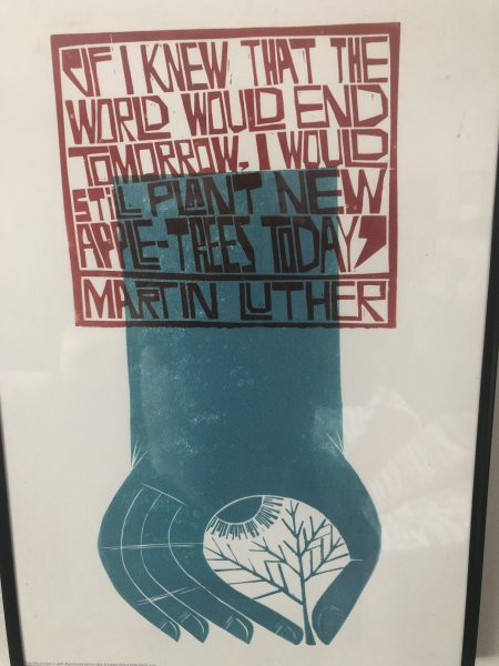 Martin Luther quote about trees
