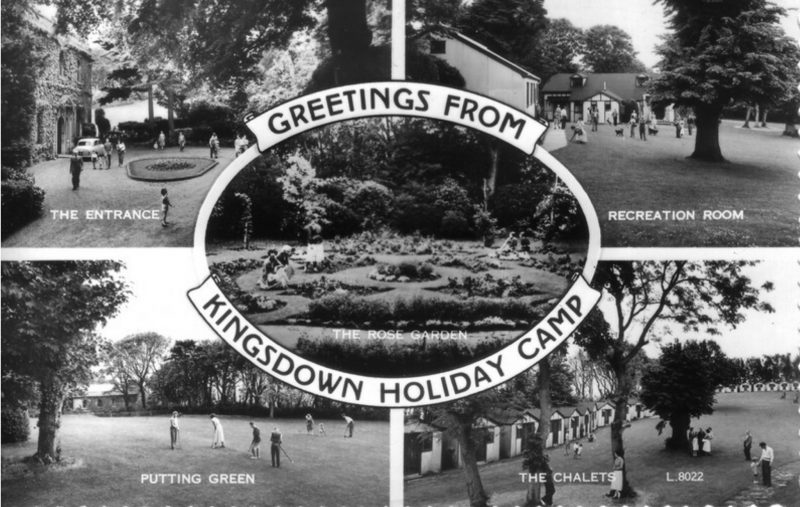 Greetings from Kingsdown Holiday Camp