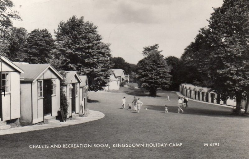 Kingsdown Holiday Camp chalets